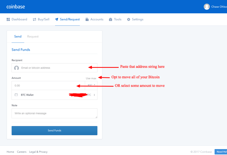 Coinbase how to transfer bitcoin to usd wallet ethereum proof of stake 4 ccuart Images