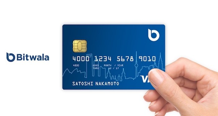 Bitwala Visa Debit Card