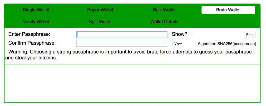 portofelele de hârtie brain wallet