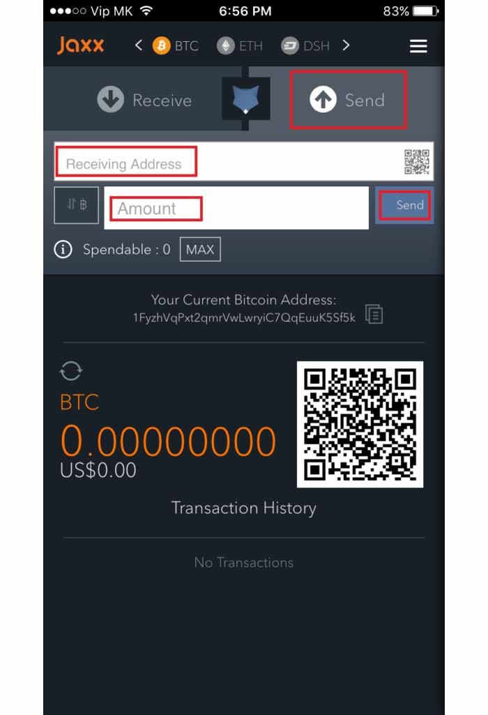 How to password exodus wallet jaxx wallet chrome ccuart Choice Image