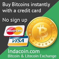 IndaCoin - Buy Bitcoins with Credit Card