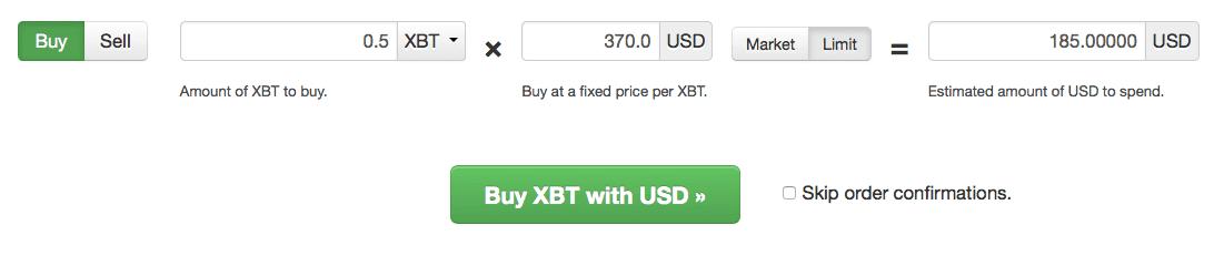 Bitcoin trading strategy